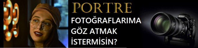 PORTRE FOTOĞRAFLARI