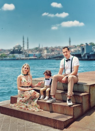 Personal Photo Shooting in Istanbul.  Family Photo Shooting in Istanbul