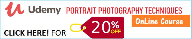 CLICK HERE for OnLine Portrait Photography Techniques Course