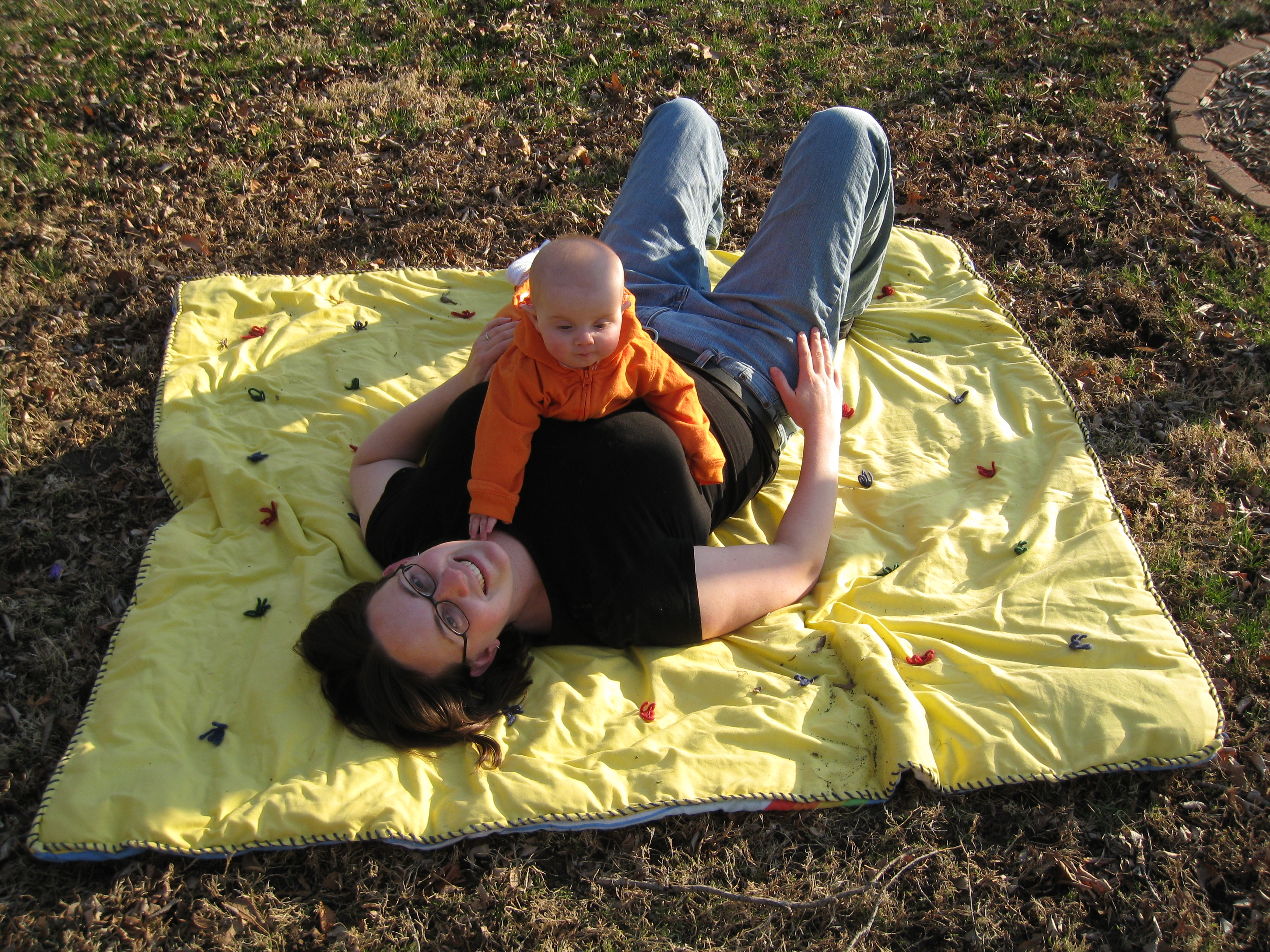 mommy-and-kivrin-outside