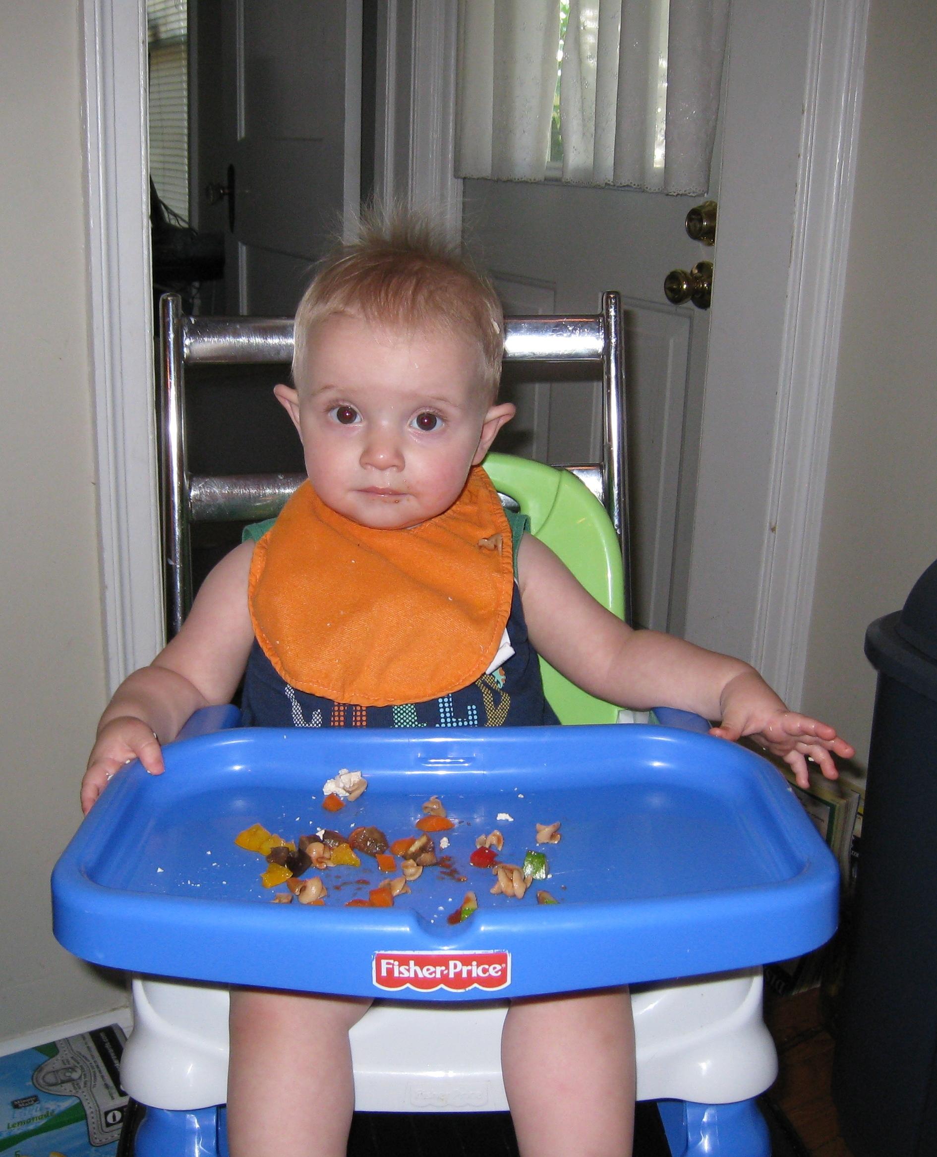 kivrin eating or not eating the veggies