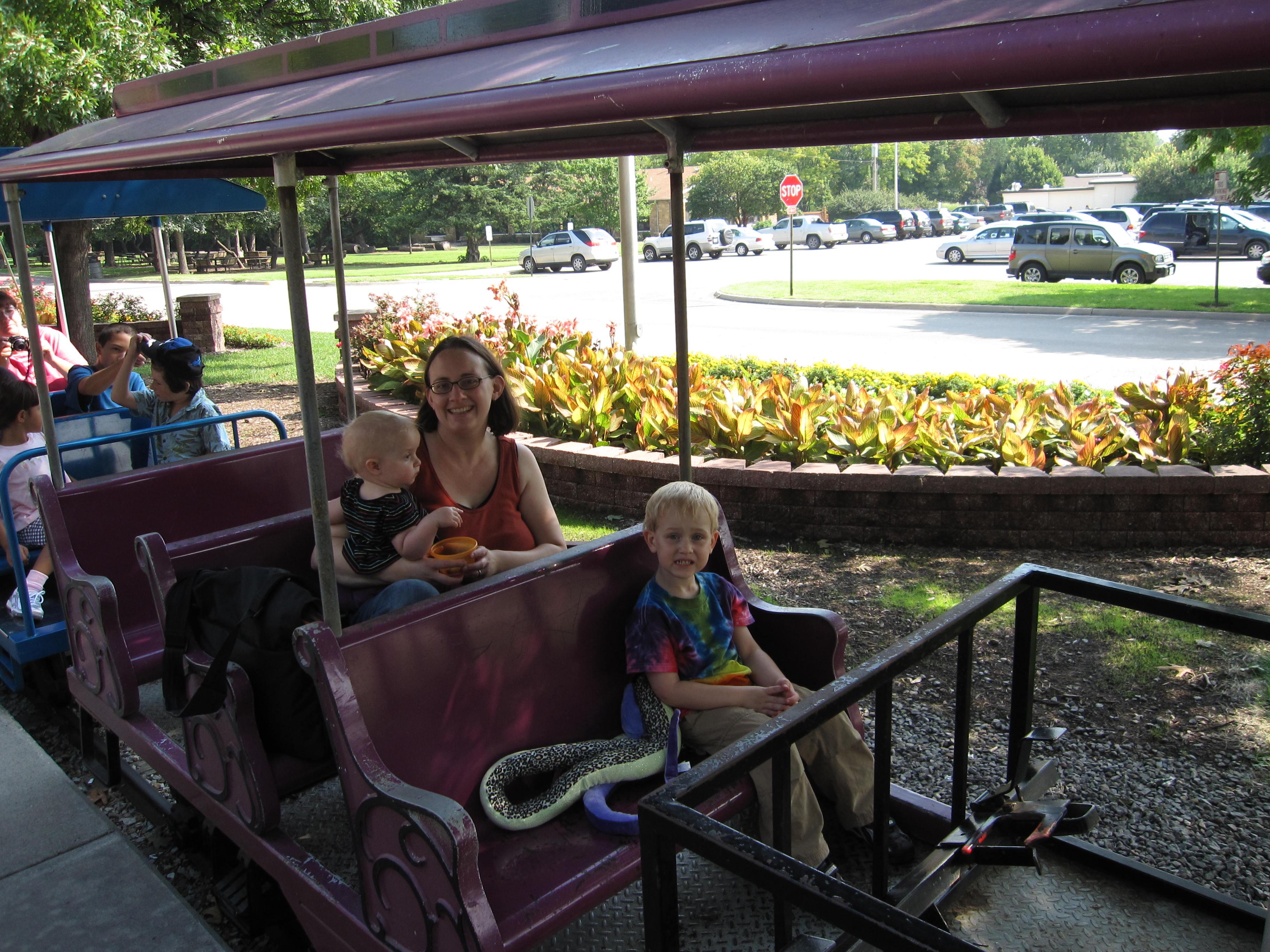 gage park mini train