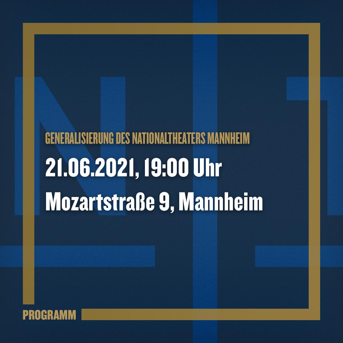 Generalisierung des Nationaltheaters Mannheim