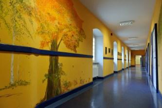 PHOTO: BARTOSZ KRUPA/EAST NEWS OWINSKA, 30/01/2013. OSRODEK OPIEKUNCZO - WYCHOWAWCZY DLA DZIECI NIEWIDOMYCH W MIEJSCOWOSCI OWINSKA. N/Z: SZKOLNE WNETRZA Owinska, Poland 30/01/2013 The school for blind children in Owinska. In the picture: school interior.