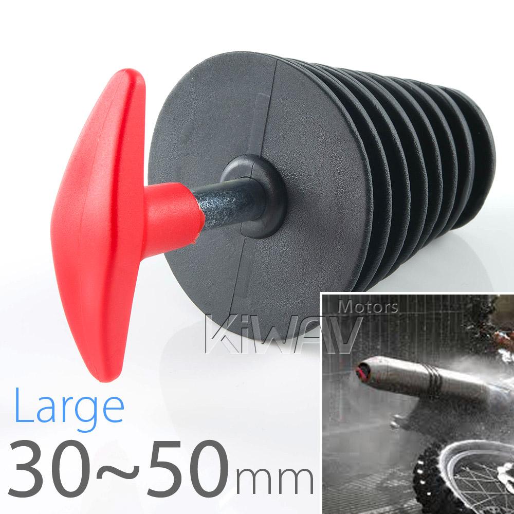 exhaust muffler plug large for 4 stroke