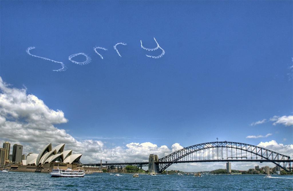"""""""Sorry"""" って言われたら何て返す?"""
