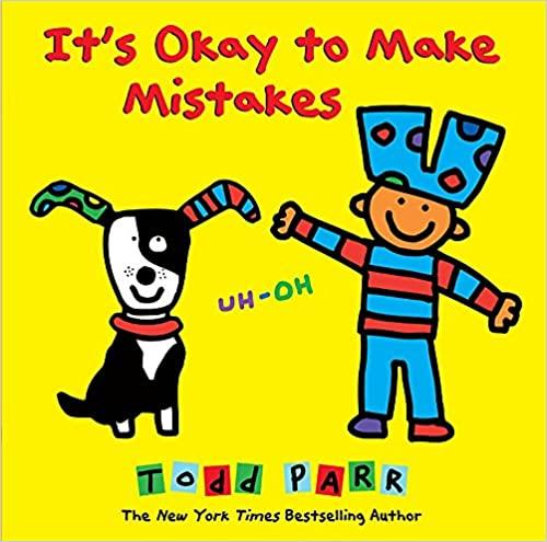 おすすめの洋書絵本『It's Okay to Make Mistakes』