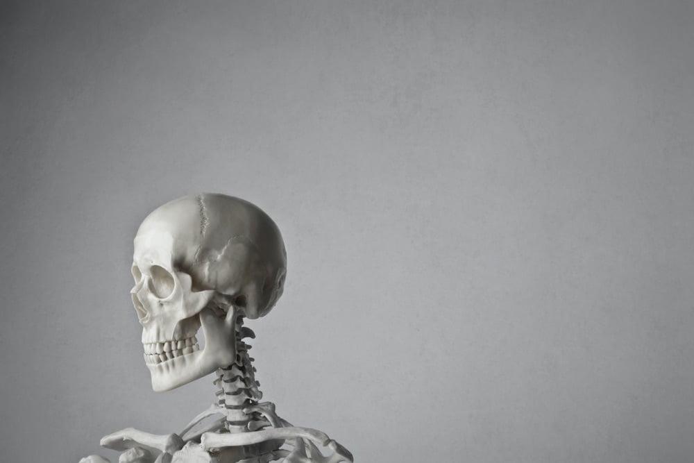 """skeleton crew""、""skeleton in the closet""  ってどんな意味?"