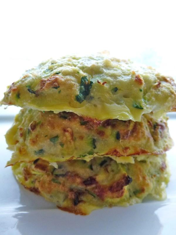 galettes de légumes et poisson de kiwi-forme.net