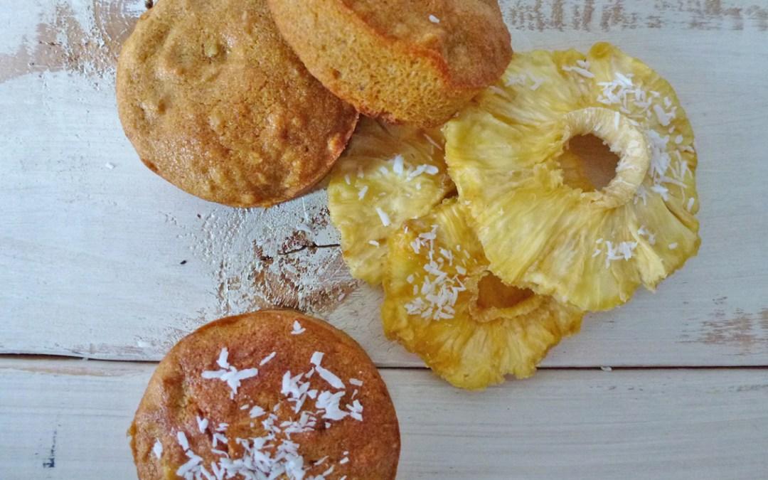 Petits gâteaux au parfum des îles (végan, sans gluten).