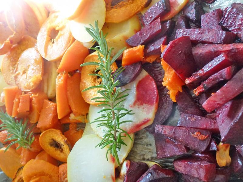 Légumes rôtis…pour les jours sans idées…