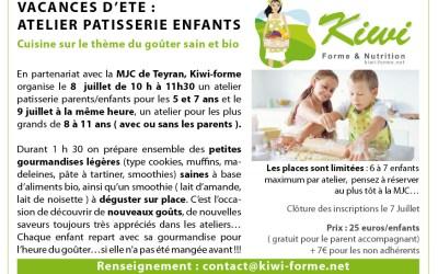 Atelier d'été sur le thème du goûter sain  (Parents/enfants) à côté de Montpellier