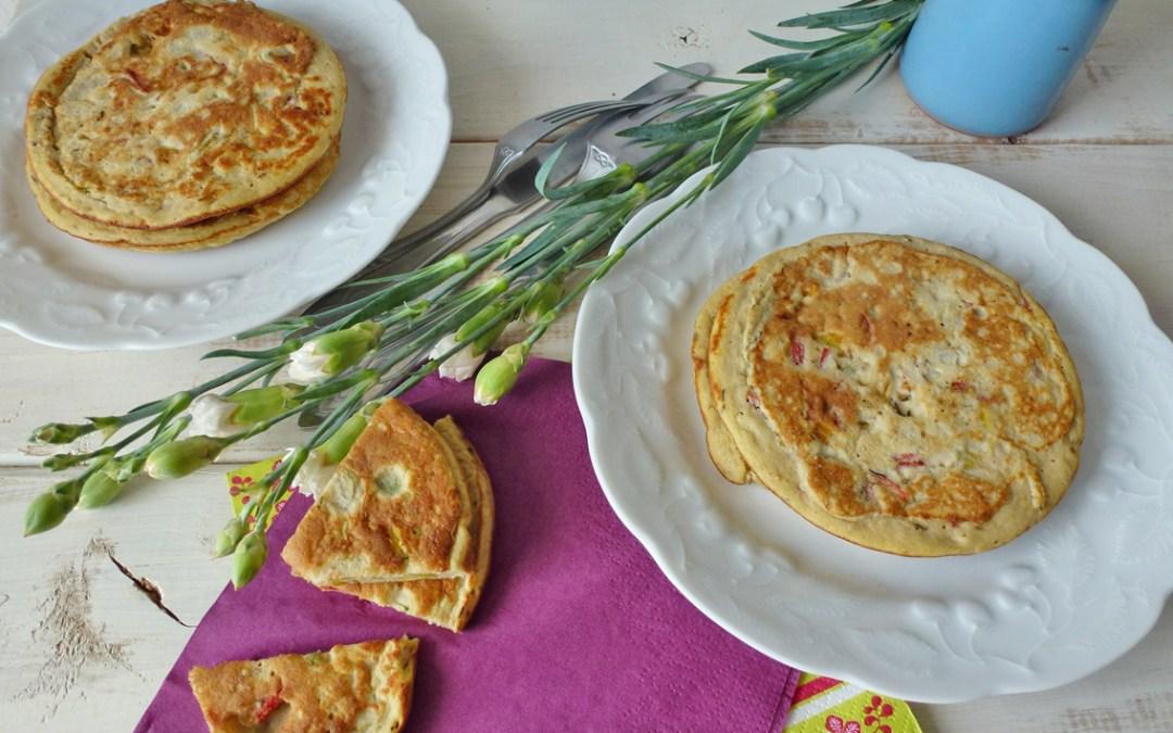 Comme des pancakes… aux petits légumes  ( faible IG, sans céréales)