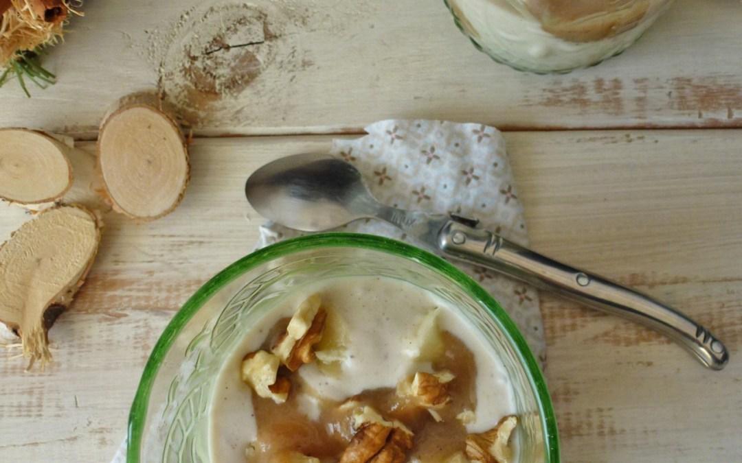 Petite crème banane vanillée au lait de coco. ( Sucrée aux fruits, vegan, sans céréales)