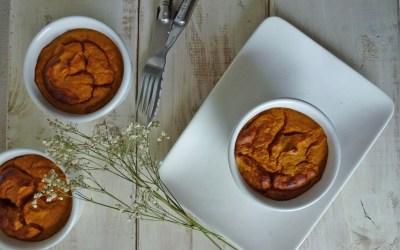 Flans de carottes  au cumin ( sans gluten, sans lactose )