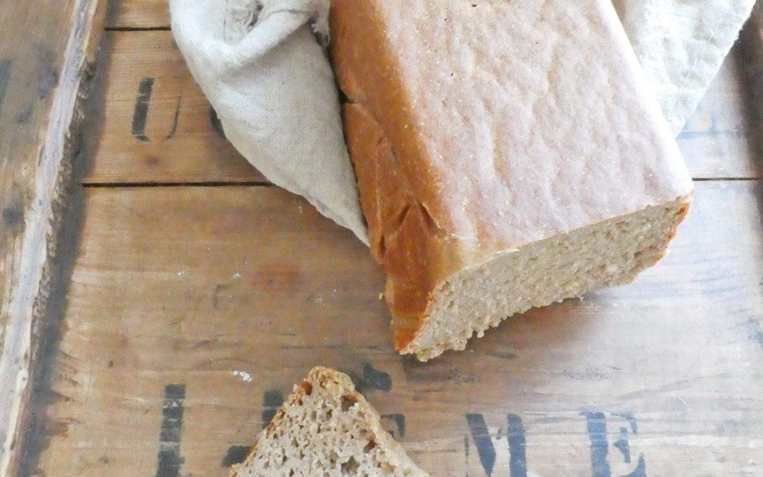 Pain faible teneur en gluten, levé au levain naturel, IG contrôlé