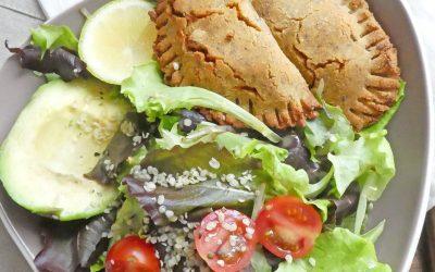 Empanadas aux légumes et tofu  ( Végétaliens, sans gluten, sans céréales, allégés en MG )