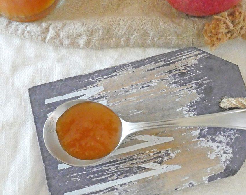 Réduction de jus de pomme, pour sucrer autrement et intelligemment …