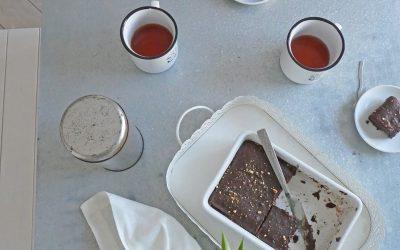 Le fondant sain au chocolat, moins gras, moins sucré, sans céréales ;-)