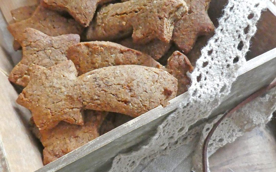 Biscuits au sarrasin, noisettes et noix de cajou  ( Sans gluten, sans céréales, vegan )