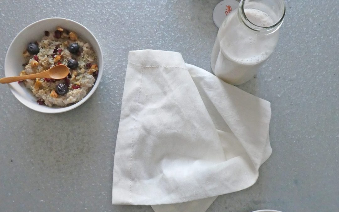 Porridge d'avoine aux omega-3