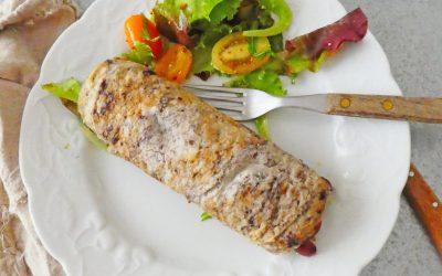 Omelette façon wrap à la méditerranéenne  (Sans céréales, avec ou sans lactose )