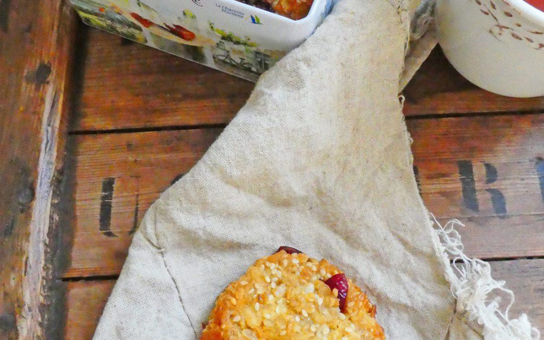 Cookies moelleux aux flocons d'avoine pour petit déjeuner gourmand