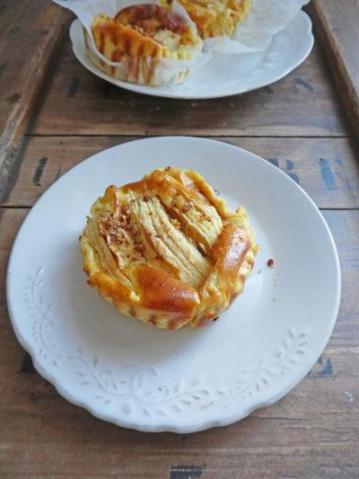 Fausse tarte aux pommes ( Léger, sans céréales )