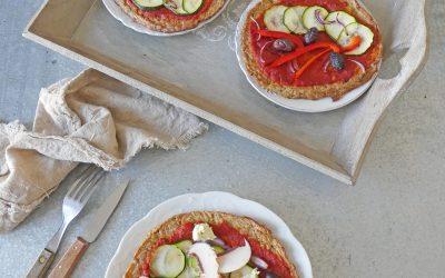 Pizza sans pâte ( Léger, sans lactose, sans céréales )