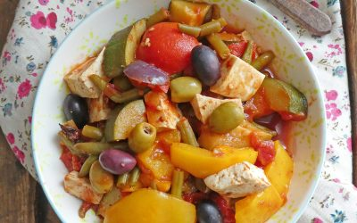 Basquaise de légumes au tofu