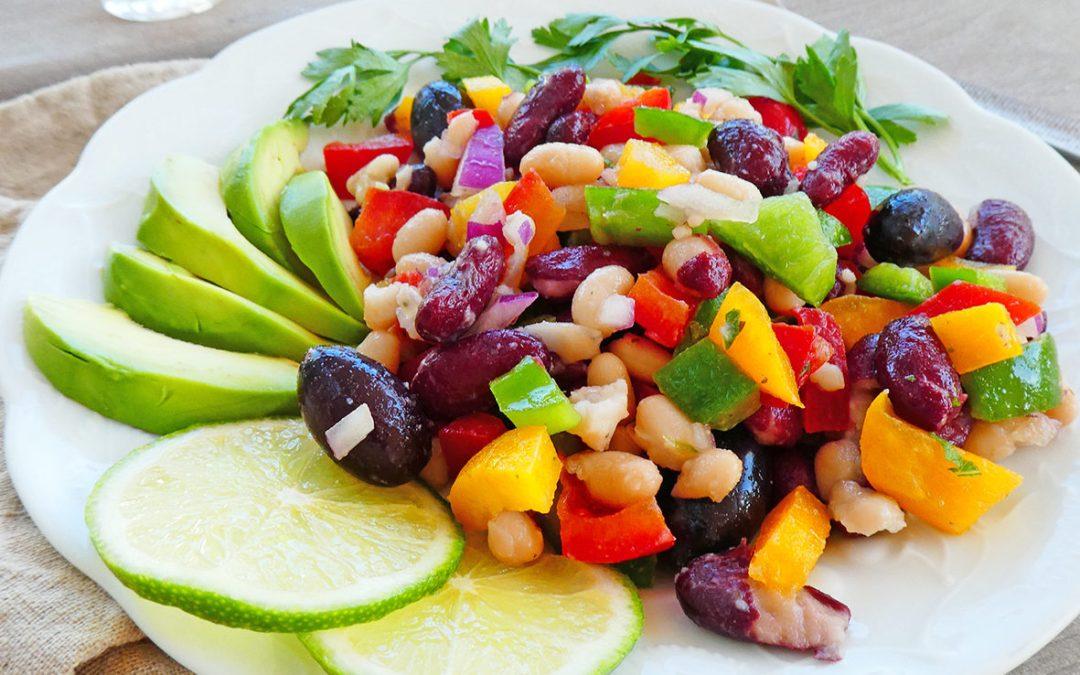 Salade aux deux haricots ( Vegan, sans céréales )