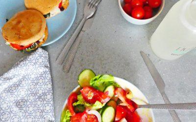 Petits pains sandwiches aux lentilles corail pour des croques végétariens ( sans céréales, sans gluten, index glycémique bas, option vegan )