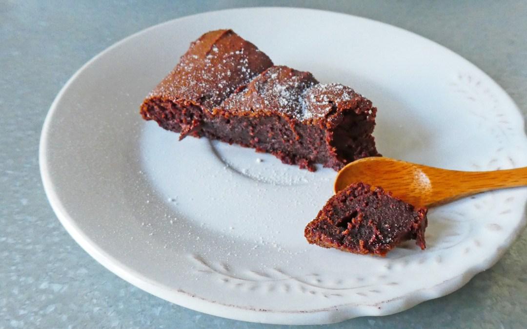 Gâteau au chocolat ( Sans beurre ni huile, sans soja, index glycémique contrôlé )