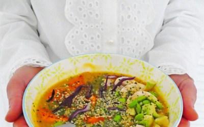 Le bowl-soupe pour une détox saine, simple et gourmande