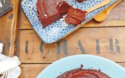 LE gâteau au chocolat, sans beurre, sans huile, sans farine ( sans gluten, index glycémique bas )