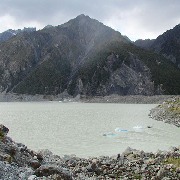 Tasman lake