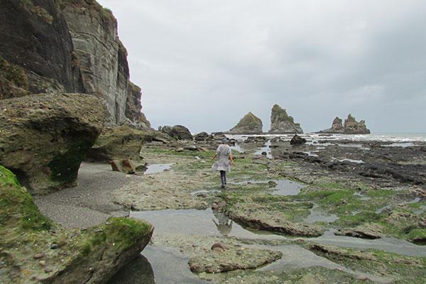 motukiekie beach