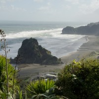 Getting out of Auckland City: Piha and Kitekite Waterfalls