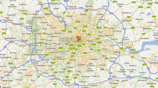 Google Map London