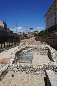 Serdika station ruins