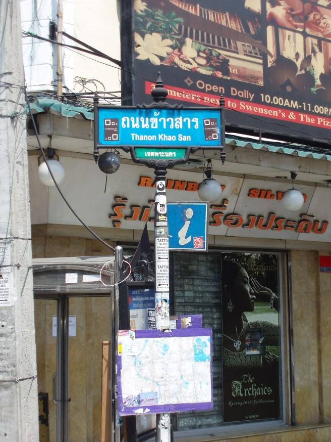Khao San Road a trip down memory lane