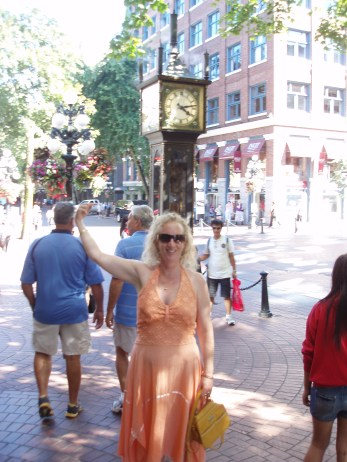 The famous Gastown steam clock