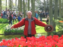 Keukenhof and the tulips