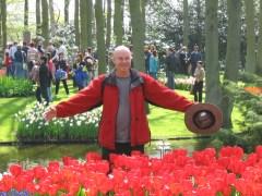 Keukenhof and the tulips