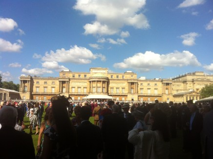 The Back Garden at Buckingham Palace