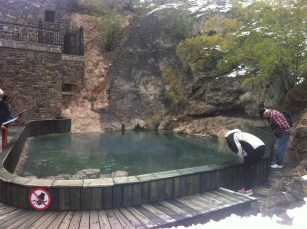The original hot pool closed in 1971 and now home to the Banff Springs Snail