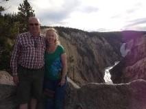 Us at Yellowstone Grand Canyon