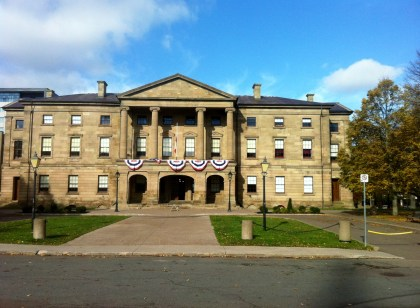 Province house where the Confederation began