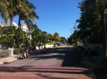 Nice street in Key West