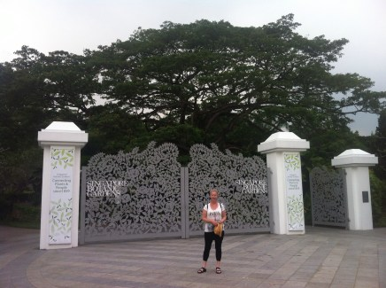 Botanic garden gate